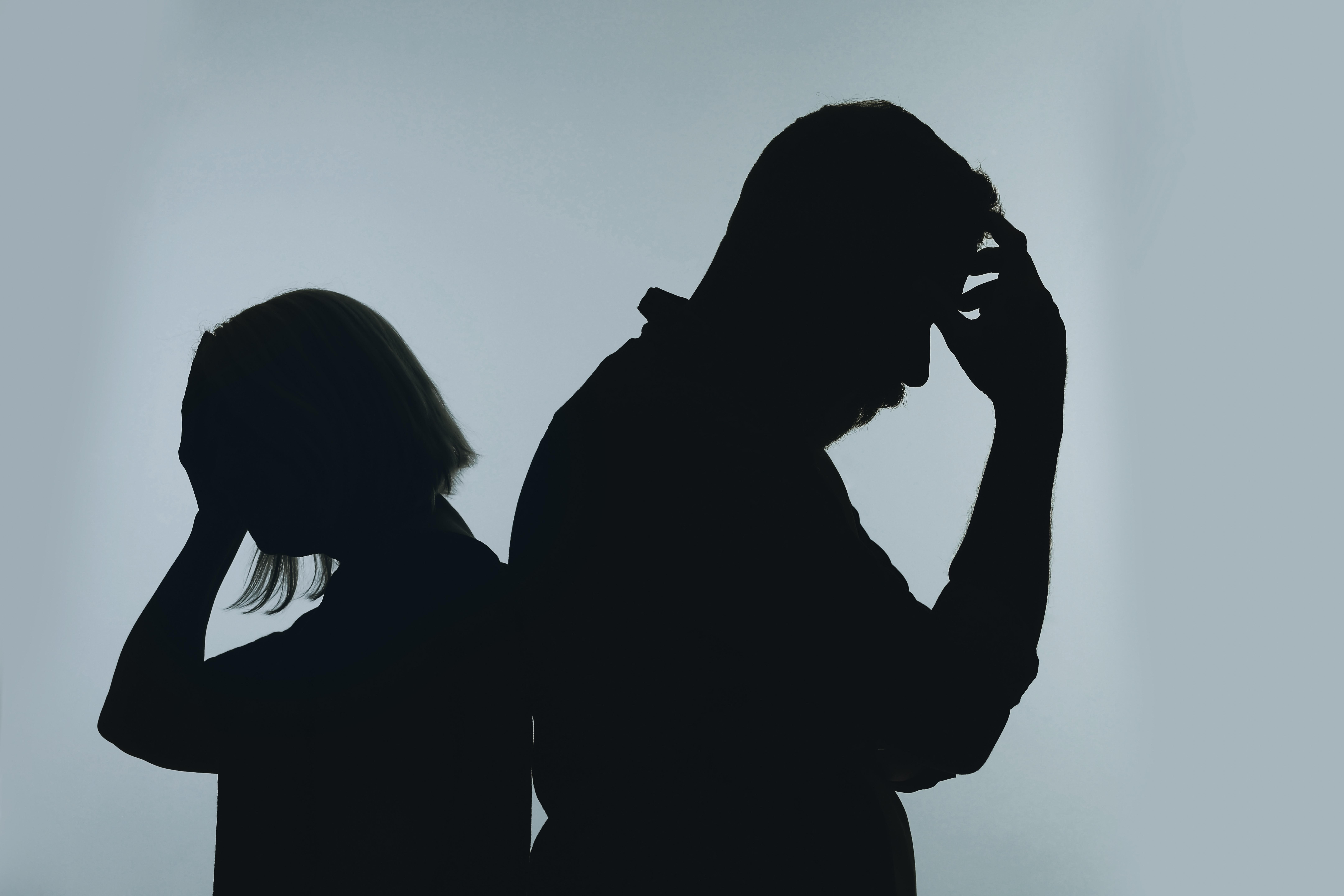 ▲▼示意圖,成人,焦慮,夫妻吵架,衝突,蕭條,家庭,離婚,爭論(圖/123RF)