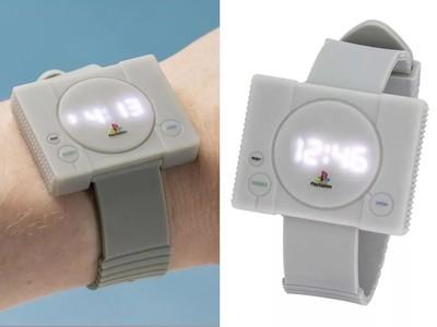 初代PS主機電子手錶正式開賣