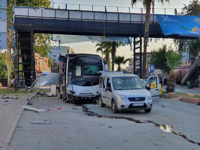 巴士遭炸彈攻擊 土耳其5人受傷