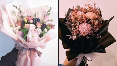 送巧克力過時了?韓國「美妝花束」太勾魂 女孩尖叫一輩子只愛你