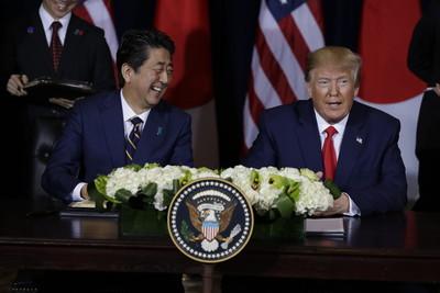 美日達貿易協議 簽署共同聲明