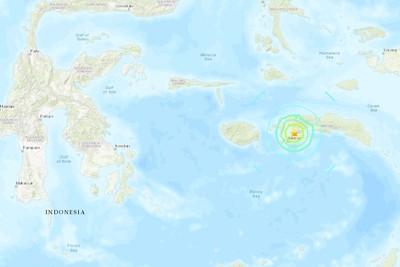 印尼希蘭島規模6.5地震 至少1死