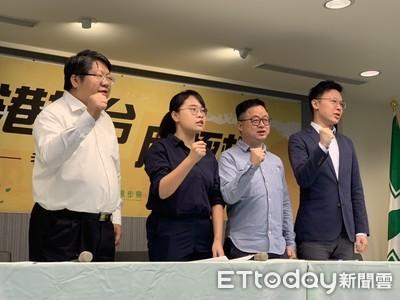 影/民進黨拍廣告撐香港 卓榮泰29日率領黨工上街頭