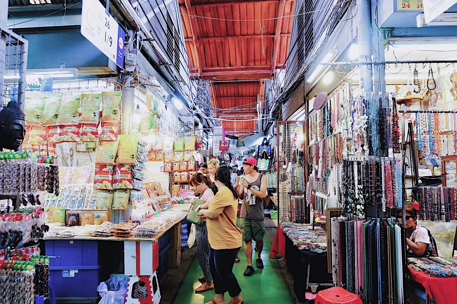 ▲▼ 泰國恰圖恰市集。(圖/Woo聊提供)