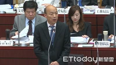 韓國瑜選總統動機!「政策、補助、祝福」感受不到