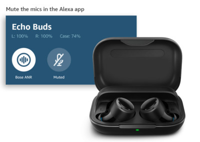 Amazon推出Echo Buds無線耳機