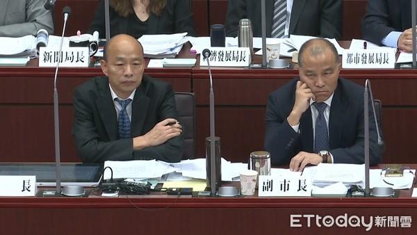 民進黨議員要求「承諾不請假」!韓國瑜跳針答:目前沒有請假計畫 | ETt