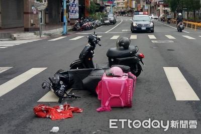 常見外送員車禍倒地…警加強開單:為了救你們!