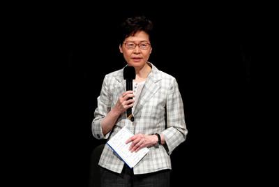 林鄭月娥14日赴北京述職! 批評示威者破壞法院