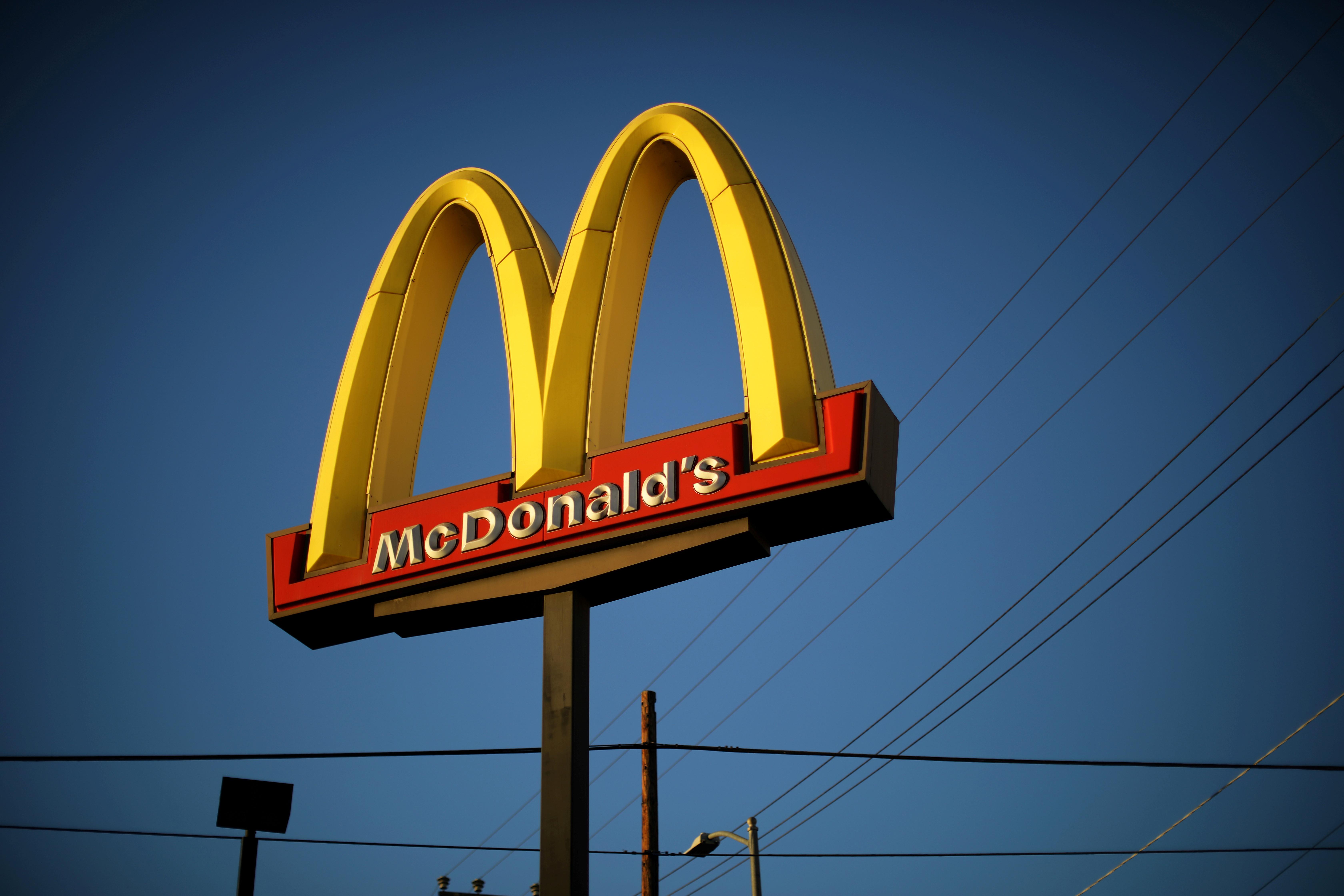 ▲麥當勞推出植物性漢堡。(圖/路透)