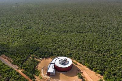 全新螺旋型博物館藏在巴西國家公園