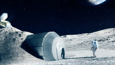 移民月球第一排! NASA公開「2030年建村計畫」用太空大巴送人去