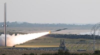 美軍試射「郊狼」超音速靶彈