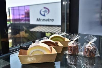 桃捷農博打造 「Mr.metro捷運先生」咖啡屋