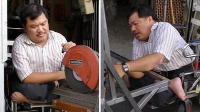 不甘一生在地上爬!身障男學3D設計發明輔具 樂觀談人生:一切攏是命
