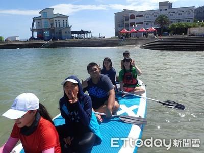 馬公高中教師帶學生關注澎湖海洋垃圾