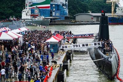 服役70年 「阿公級」軍艦海獅號開放參觀