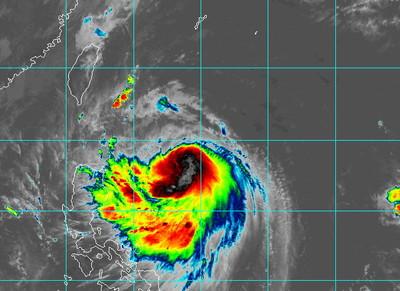 米塔最近台時間曝 「暴風圈侵襲北東機率8成以上」