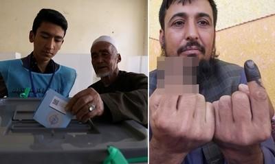 阿富汗商人被砍手指、不怕轟炸要投票