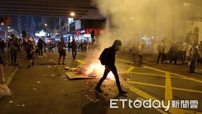 曾上街反修例 他嘆:示威者做法過頭了
