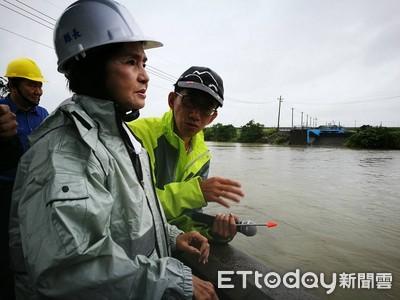 米塔颱風來襲 林姿妙盯緊防汛整備