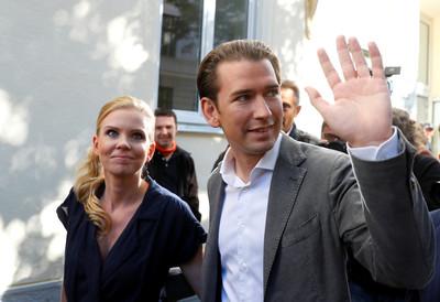奧地利保守派「人民黨」狂贏38%選票