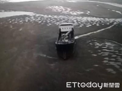 錨泊貨輪故障 海巡緊急救援
