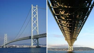挺過7.3強震「橋墩僅輕微位移」!日跨海大橋通車超過一億輛 至今穩穩的