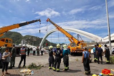 林佳龍宣布主導「全台橋梁體檢」