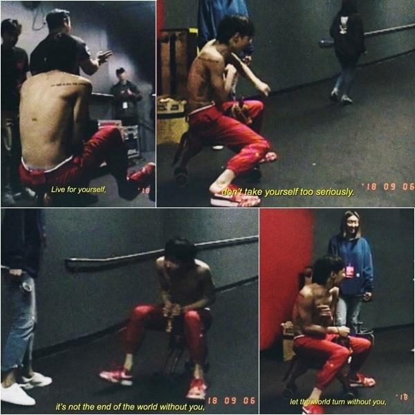 ▲GD退伍倒數25天 IG連發4張裸上身玩瘋照:要為自己而活。(圖/翻攝自G-Dragon IG)