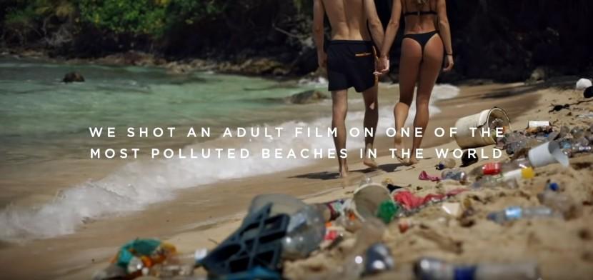 Pornhub新企劃:在全球最髒沙灘上拍片 每看一次就捐錢給環保團體