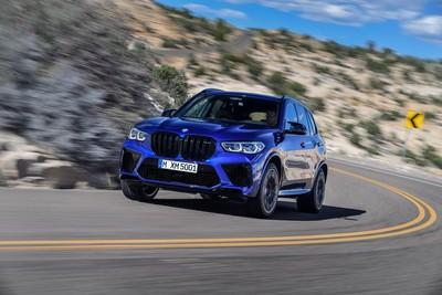 BMW X5 M、X6 M德國亮相