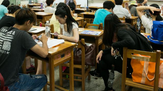▲▼大學生,校園,學生,上課,課堂。(示意圖/記者周宸亘攝)