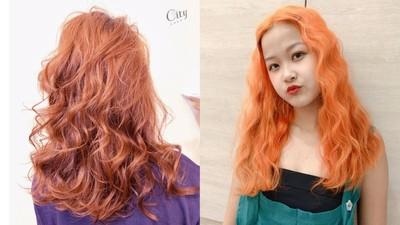 渡邊直美也愛這款!今年最夯「髒橘色染髮」 時尚顯白成霸氣焦點