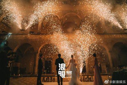 ▲《如懿傳》童瑤結婚。(圖/翻攝自微博)