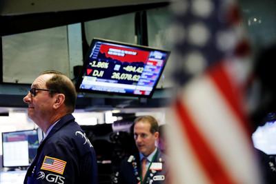 經濟數據差!美股道瓊重挫近500點