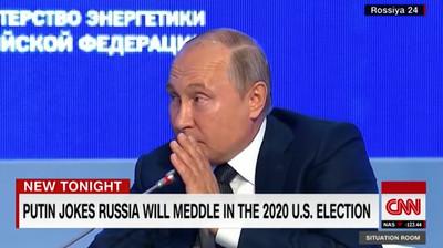 普丁玩笑回應「干預美大選」:2020再一次
