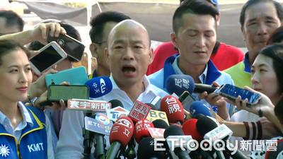 韓競選看版放彰化校園周圍 民進黨要求拆除