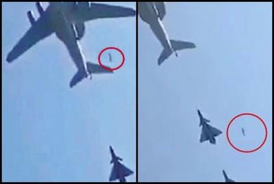 解放軍「受閱飛機掉艙門」?官方回應了