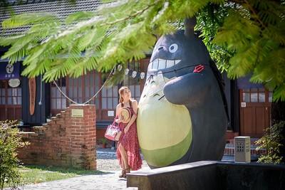 在台南最療癒園區遇見大龍貓