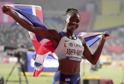 英國誕生首位世錦賽女子短跑冠軍