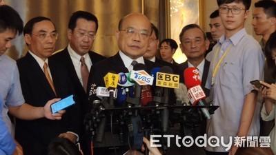 韓國瑜傳缺席總質詢訪美 蘇貞昌:議會是否理解尊重市議會