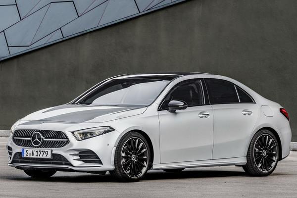 ▲賓士最便宜房車「A-Class Sedan」160萬起!雙動力選擇即將導入。(圖/台灣賓士提供)