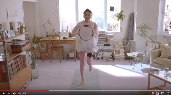 ▲▼新垣結衣代言任天堂運動電玩《健身環大冒險》,廣告觀看次數破500萬。(圖/翻攝自YouTube/Nintendo)