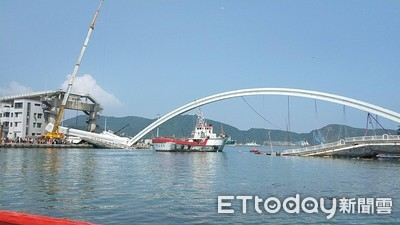 1.5月拆光斷橋? 黃玉霖:萬噸平台船來助力