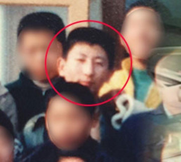 ▲▼高中時的李春在(圖/番社自韓國論壇)