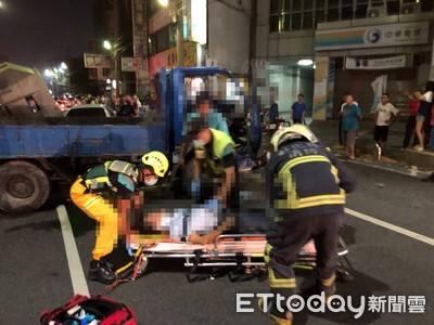 3車連環撞5傷 4歲哥與1歲嬰送醫