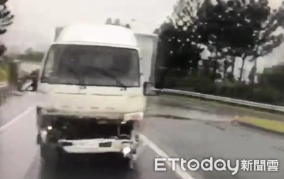 小貨車逆向上國道 警認真一瞧車上竟然沒人!