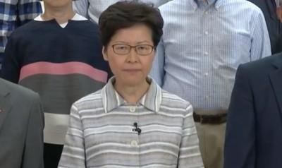 林鄭月娥:盼大家支持政府依法制暴
