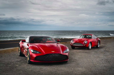 Aston Martin DBS GT Zagato跑車